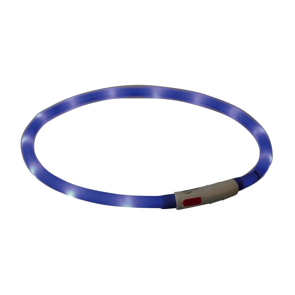 TRIXIE Hunde Leuchthalsband Leuchtring USB 12642, Bild 6