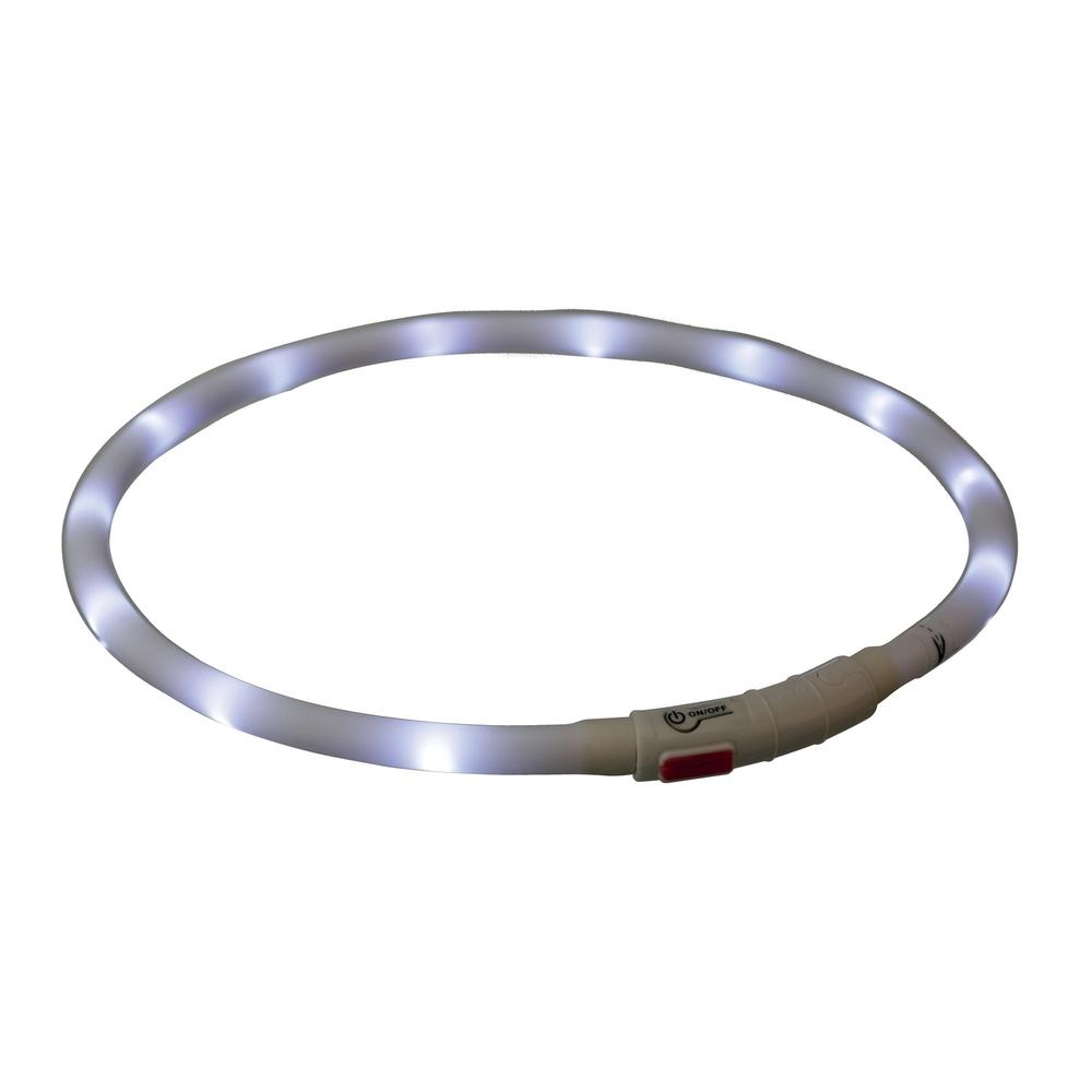 TRIXIE Hunde Leuchthalsband Leuchtring USB 12642, Bild 4