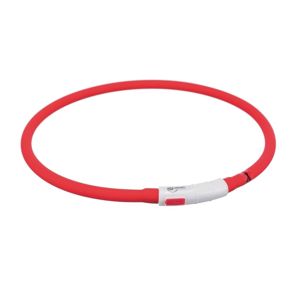 TRIXIE Hunde Leuchthalsband Leuchtring USB 12642, Bild 2