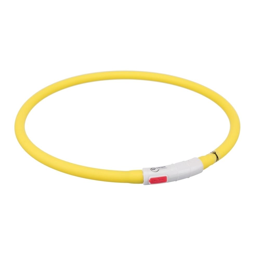 TRIXIE Hunde Leuchthalsband Leuchtring USB 12642, Bild 8