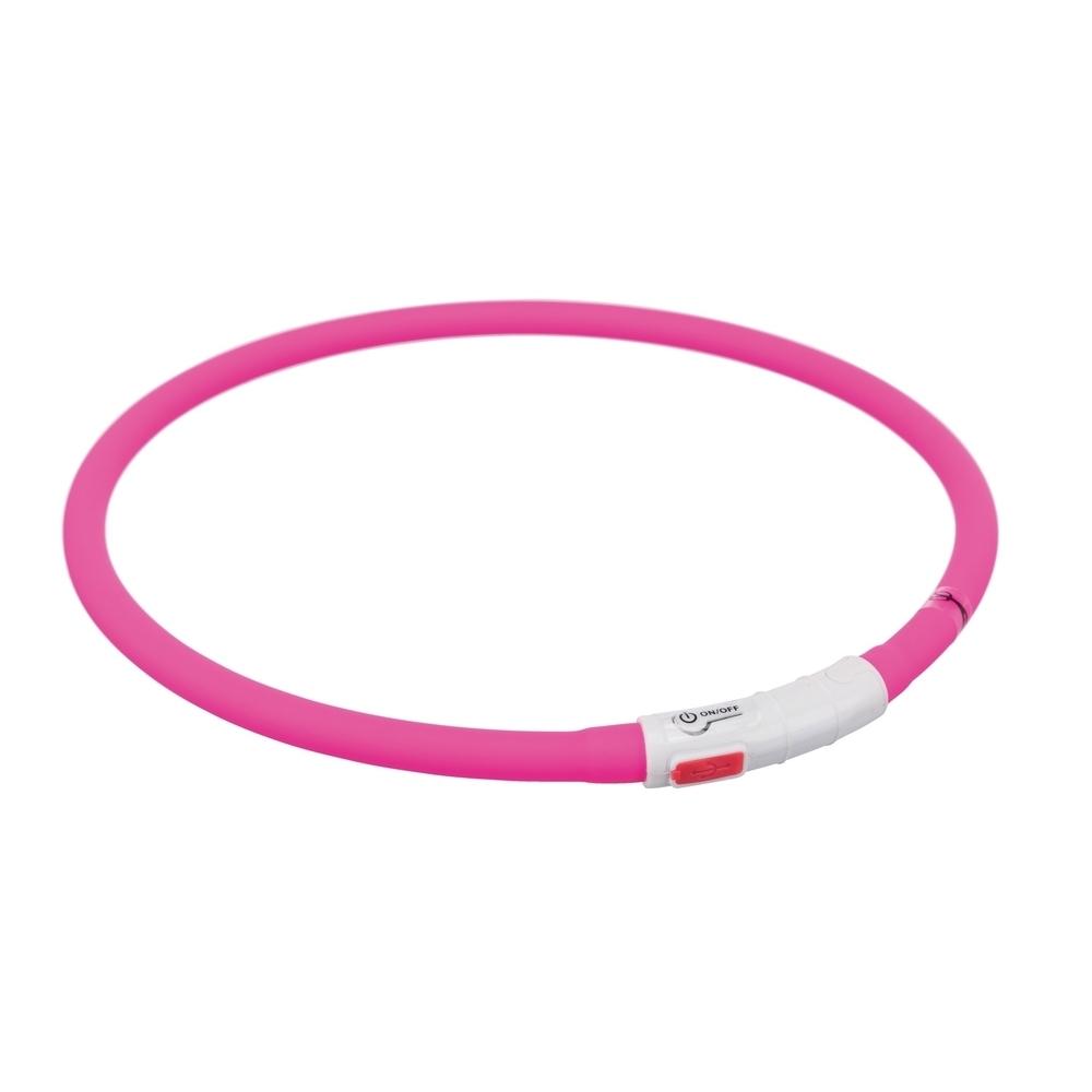 TRIXIE Hunde Leuchthalsband Leuchtring USB 12642, Bild 9