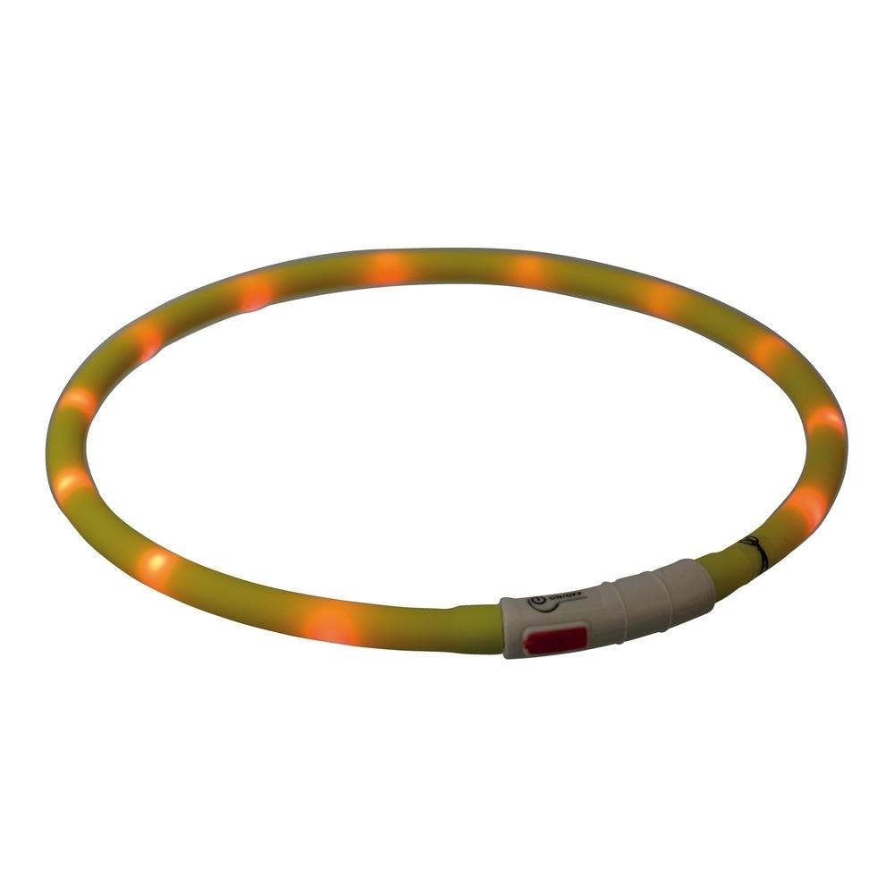 TRIXIE Hunde Leuchthalsband Leuchtring USB 12642, Bild 12