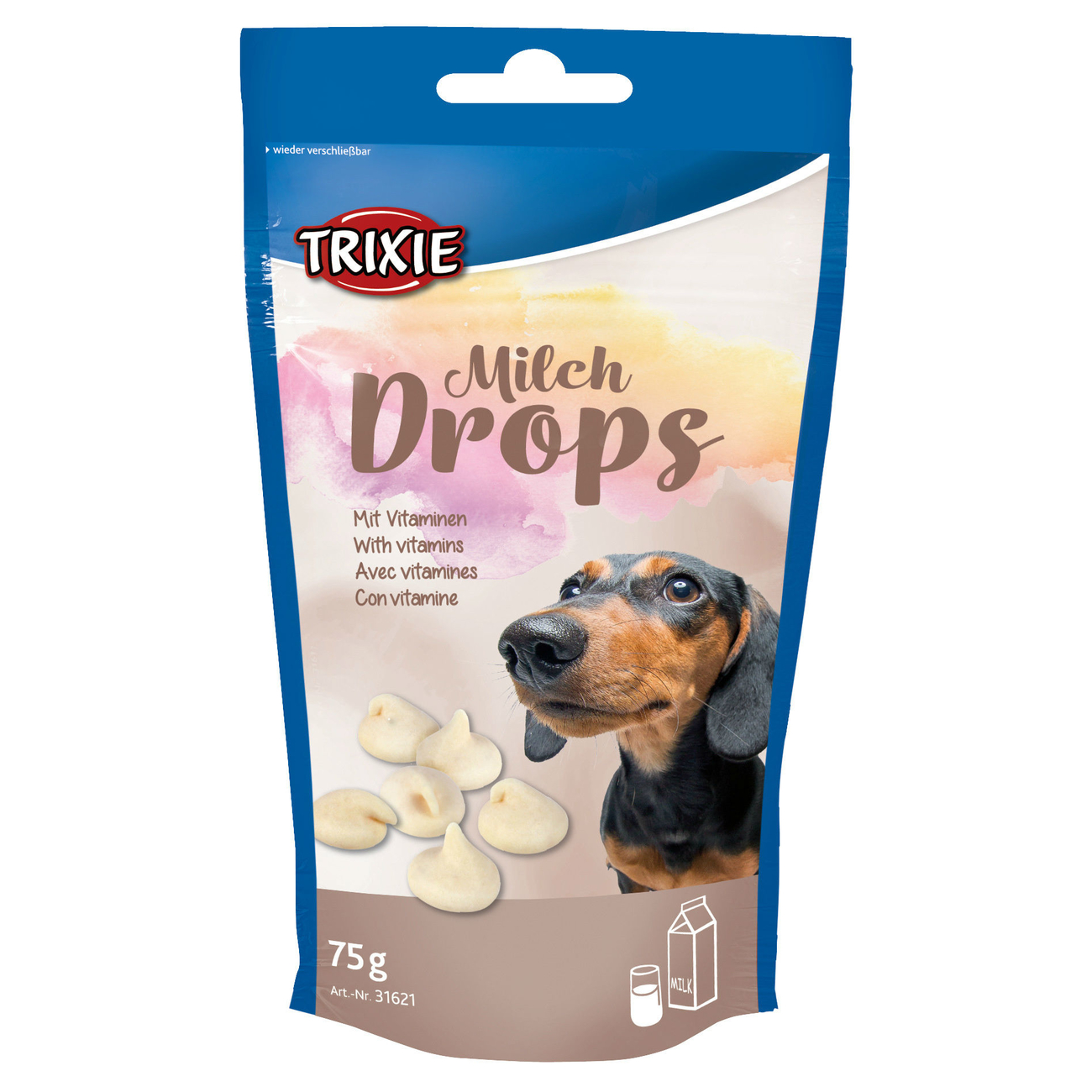 TRIXIE Hunde Milch-Drops 31621