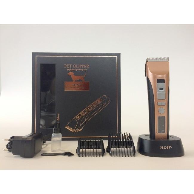 EBI Hunde Schermaschine Noir De Luxe, 7 watt, Akku
