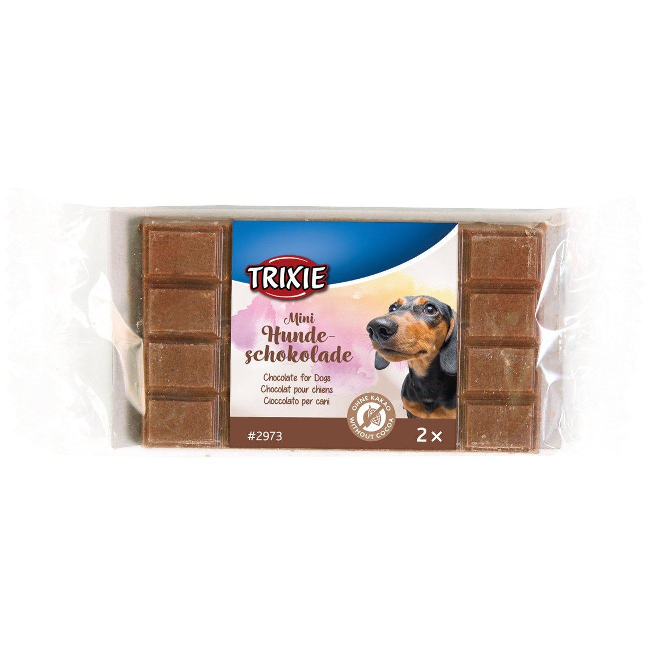 Trixie Hunde Schokolade Mini-Schoko, 2er Riegel, 2er Riegel, 30 g
