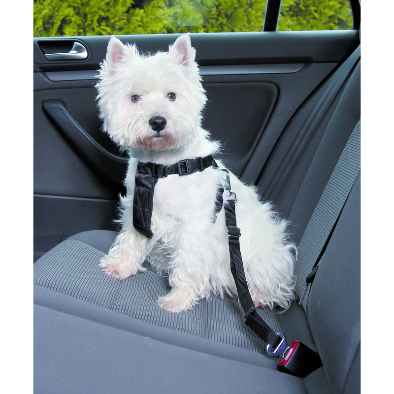 Trixie Hunde Sicherheitsgurt Sicherheitsgeschirr für das Auto 1288