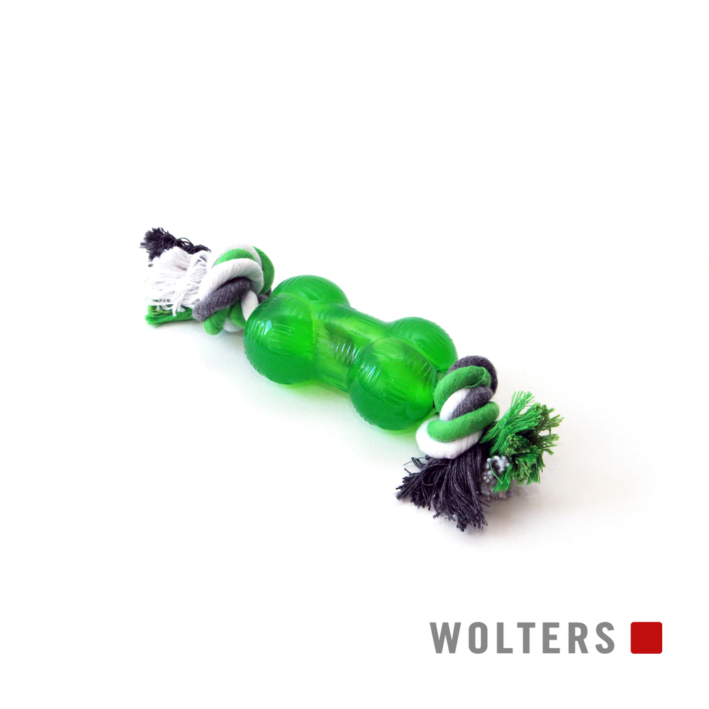 Wolters Hunde Spielknochen Bite-Me Strong mit Seil, Bild 2