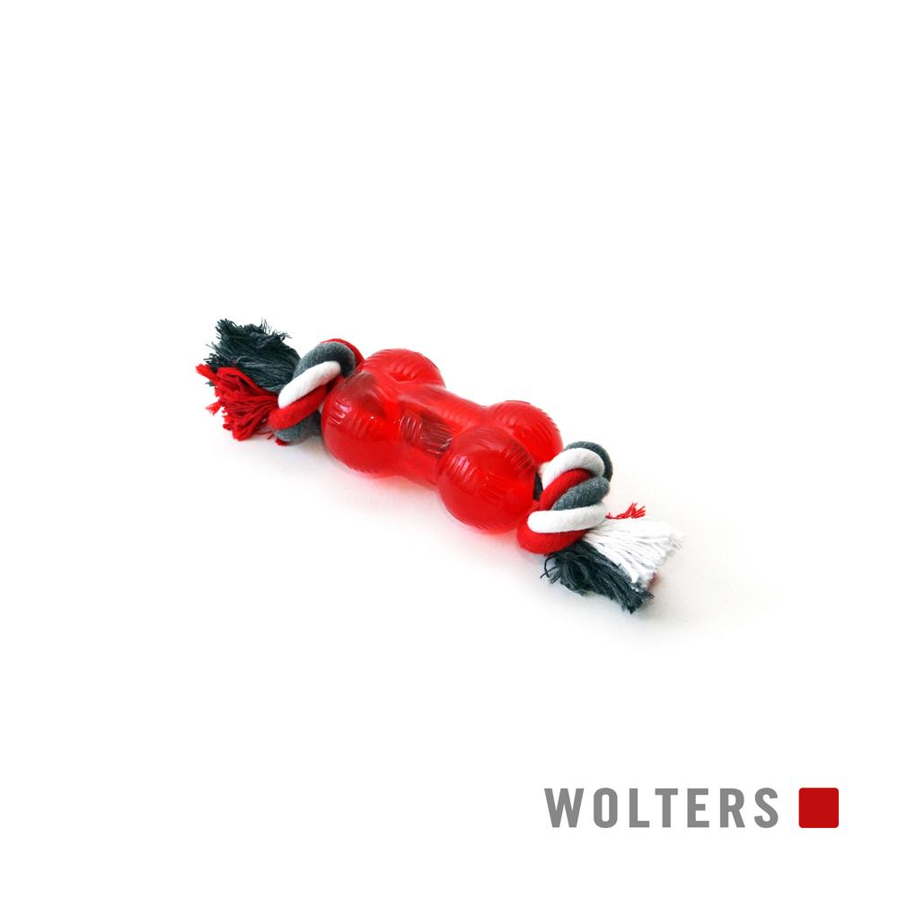 Wolters Hunde Spielknochen Bite-Me Strong mit Seil, Bild 3