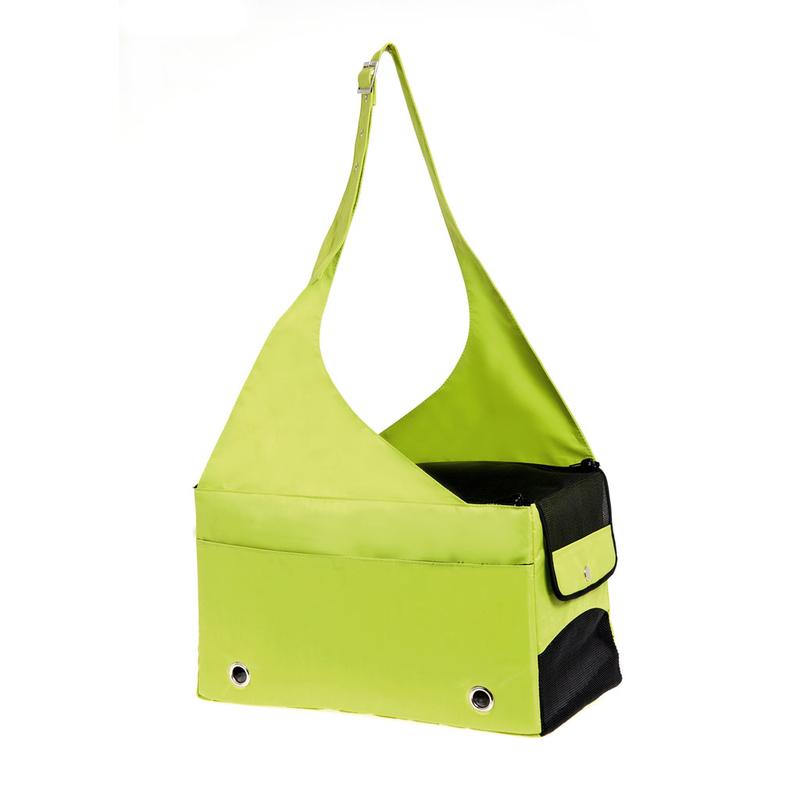Karlie Hunde Tragetasche aus Nylon neon grün