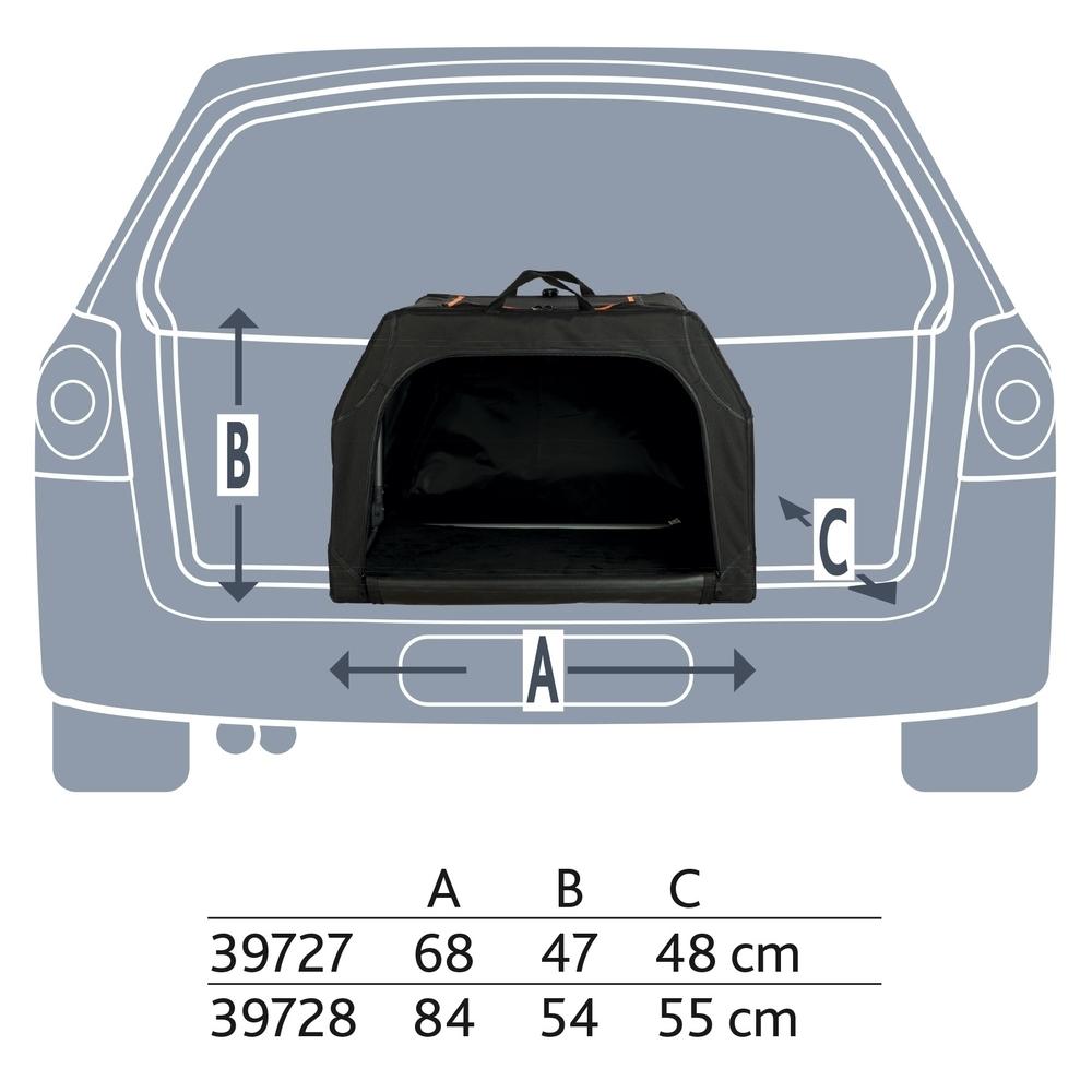 Trixie Hunde Transporthütte Transportbox Extend erweiterbar 39727, Bild 10