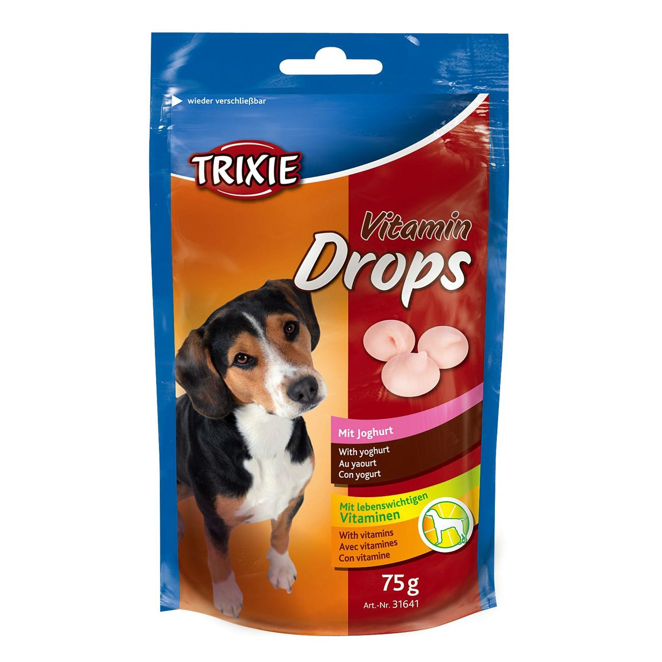 Trixie Hunde Vitamin-Drops mit Joghurt 31641