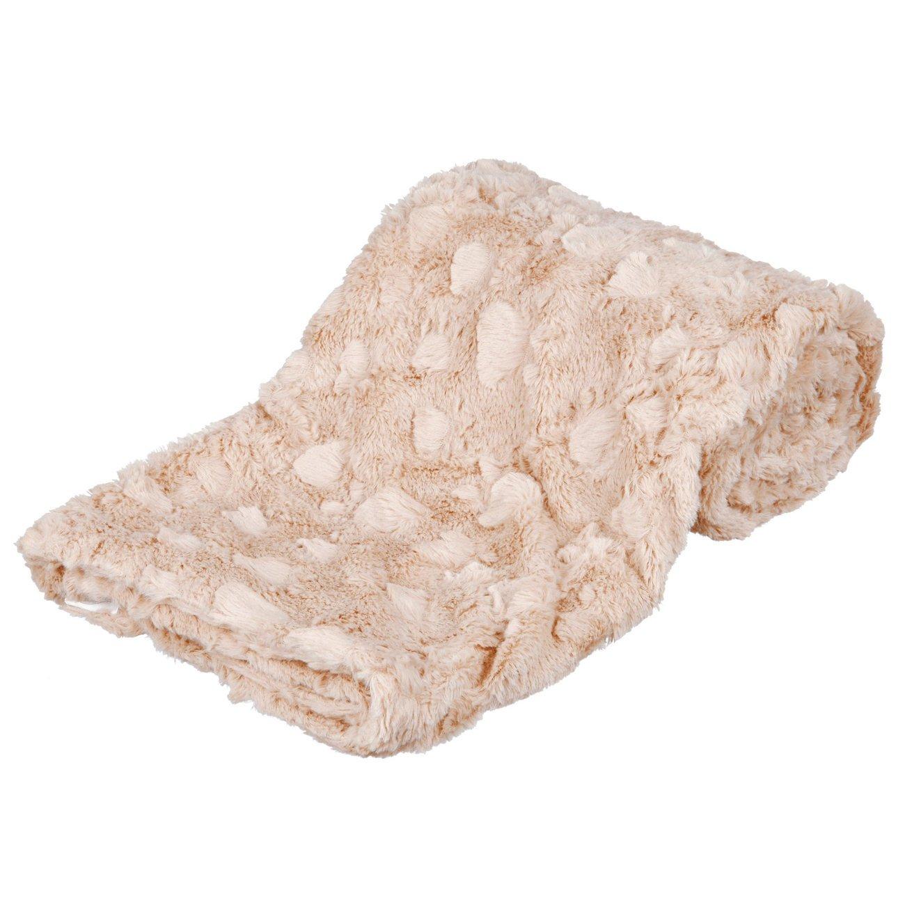 Trixie Hundedecke Cosy, 150 × 100 cm, beige