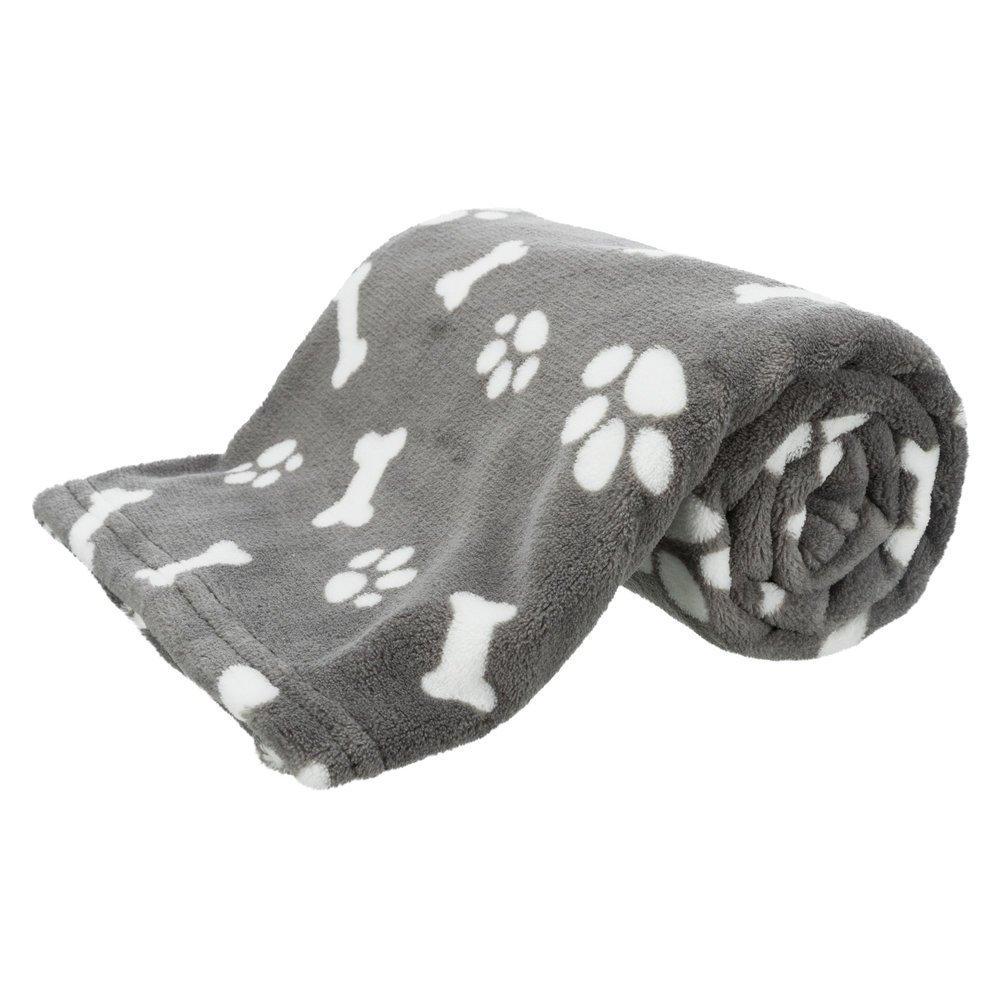 Trixie Hundedecke Kenny, 100 × 75 cm, grau