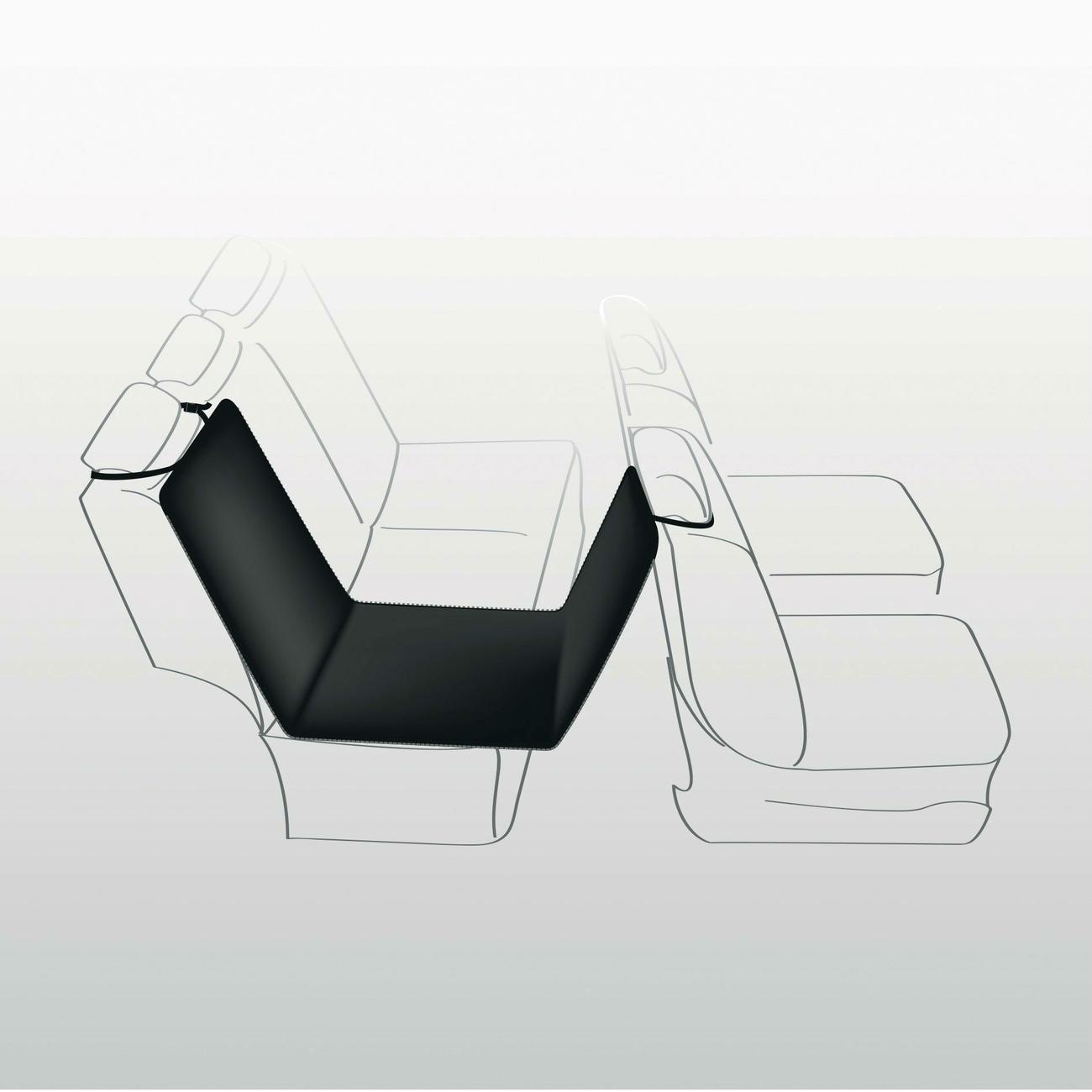 Trixie Hundedecke Rücksitz Autositz 13235, Bild 4