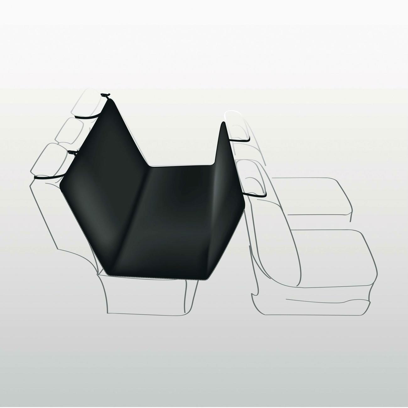Trixie Hundedecke Rücksitz Autositz 13235, Bild 2