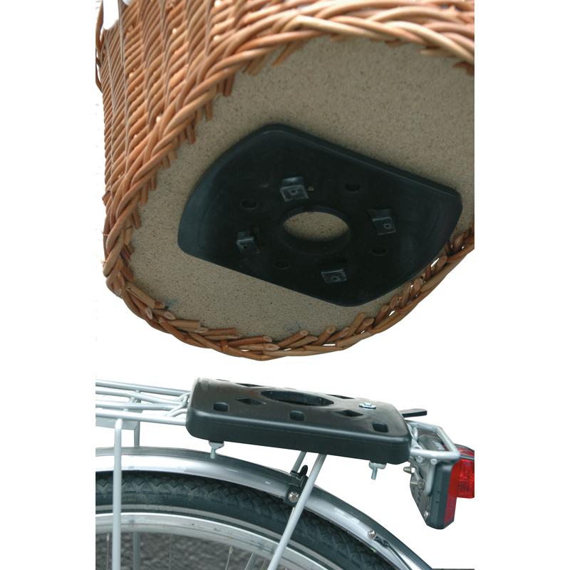 Aumüller Hundefahrradorb für Gepäckträger mit Korbfix, Bild 4
