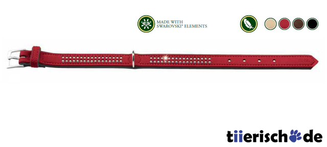 Hunter Halsband mit Swarovski Strass Softie Deluxe 47573, Bild 8