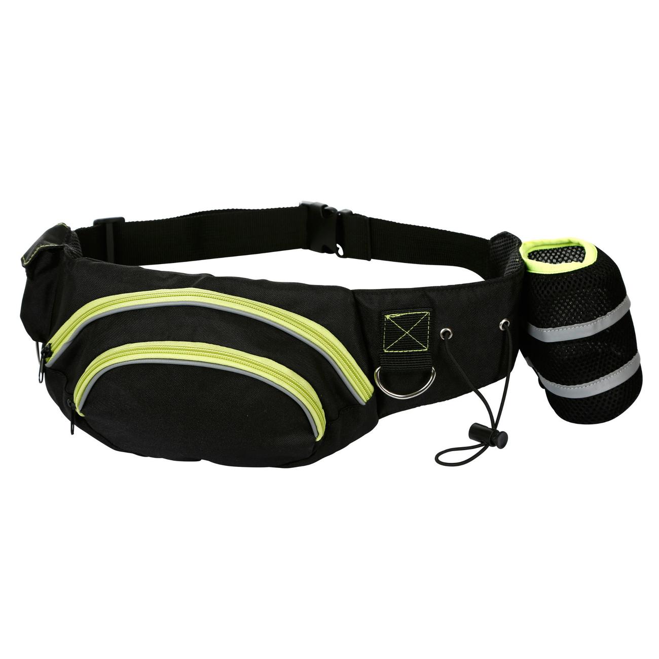 Kerbl Hundehalter Trainings-Bauchgurt Active, schwarz/pistazie