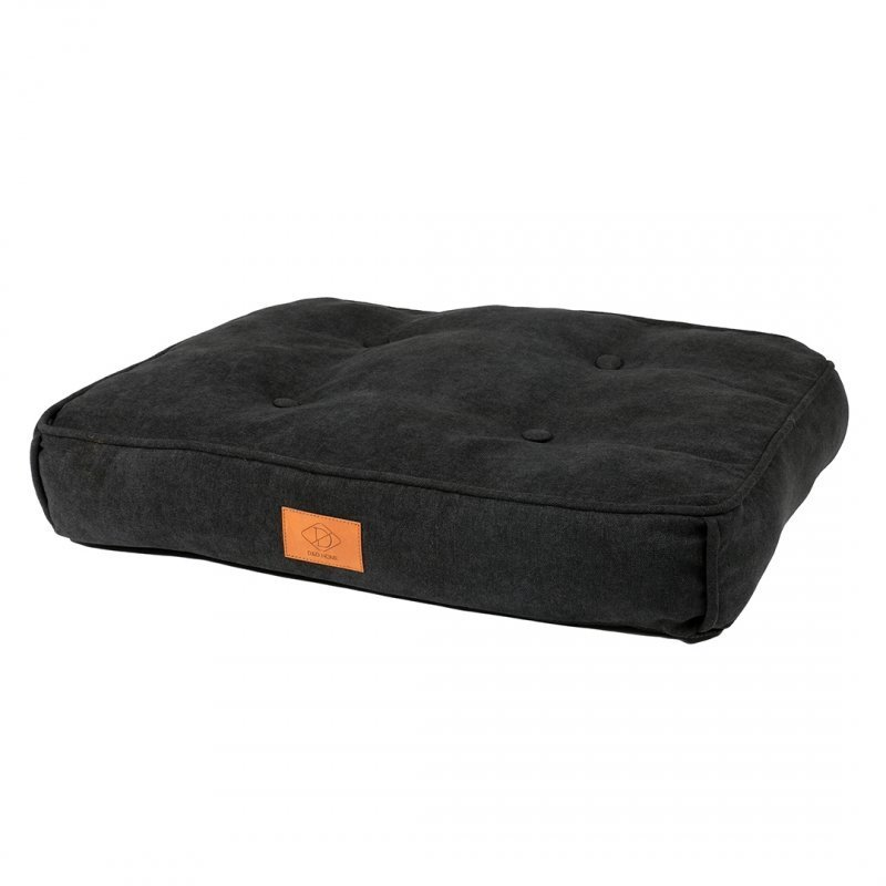 EBI Retro Hundekissen Eve im Chesterfield-Look, anthrazit, 90 x 65 x 12 cm