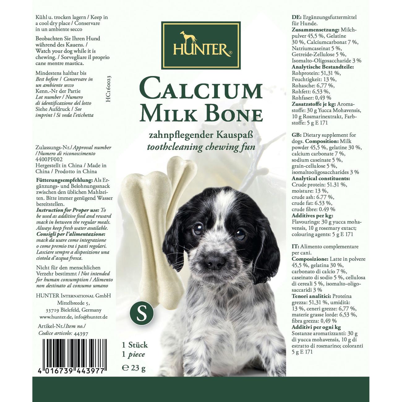 Hunter Hundeknochen Calcium Milk Bone 44397, Bild 3