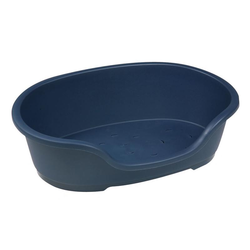 Karlie Hundekorb Plastik Domus, 70 cm, dunkelblau