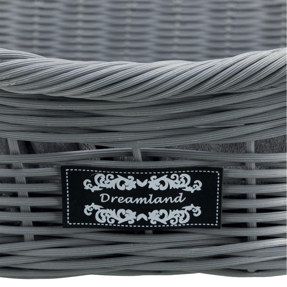 Trixie Hundekorb Polyrattan grau 28081, Bild 2