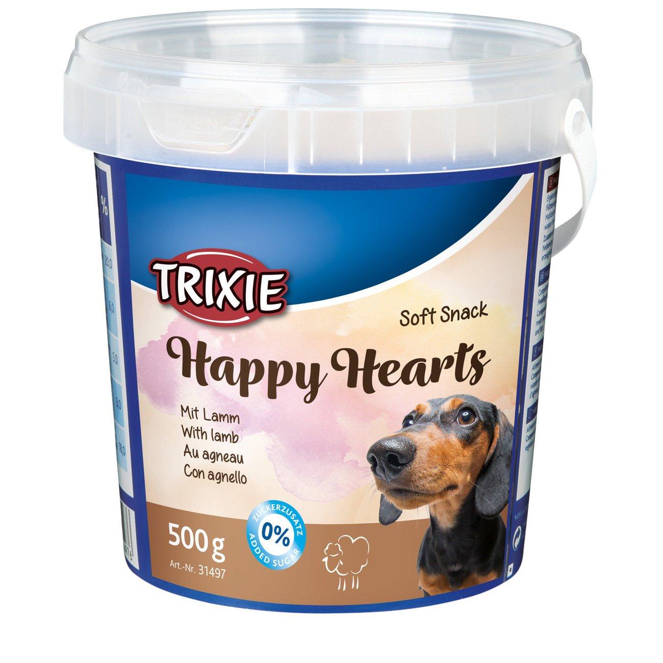 Trixie Hundeleckerlies im Eimer Happy Hearts, 500 g