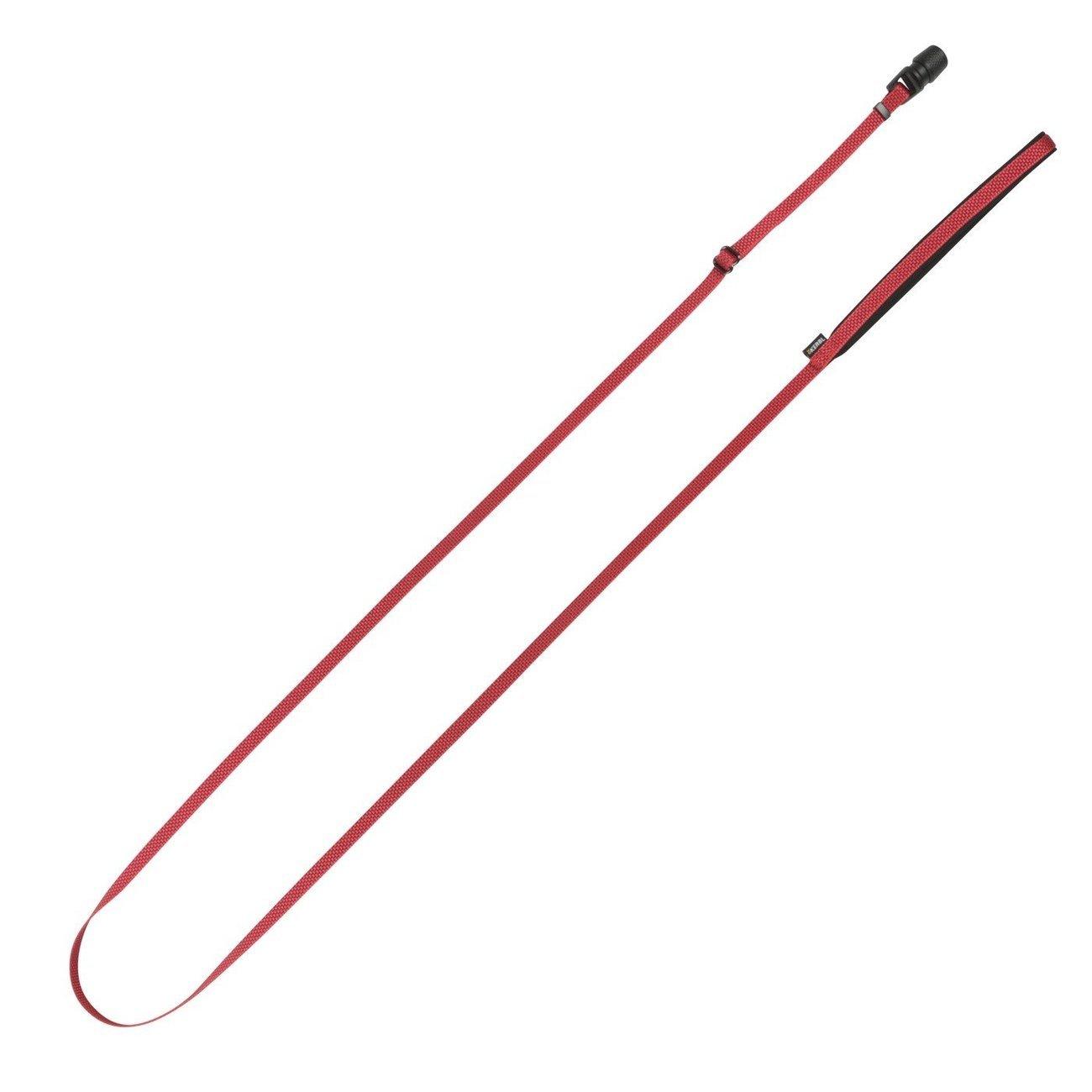 Hundeleine Flat GoLeyGo 2.0, rot, 10mm x 140-200cm