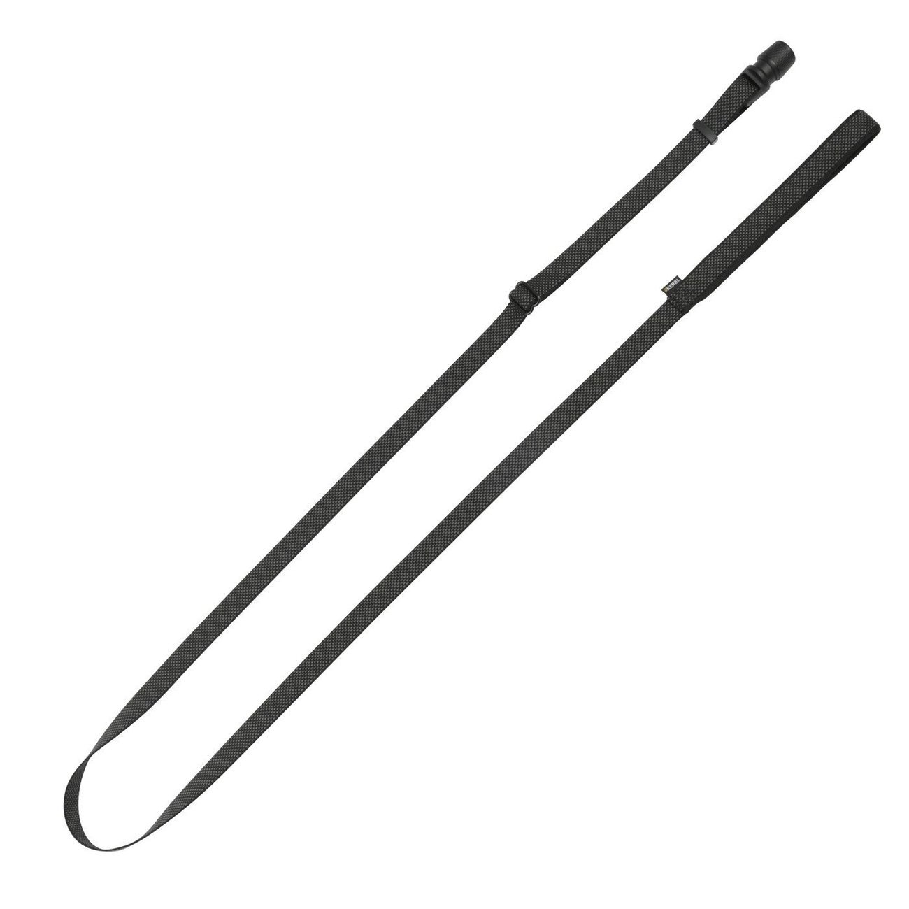 Hundeleine Flat GoLeyGo 2.0, schwarz, 20mm x 140-200cm