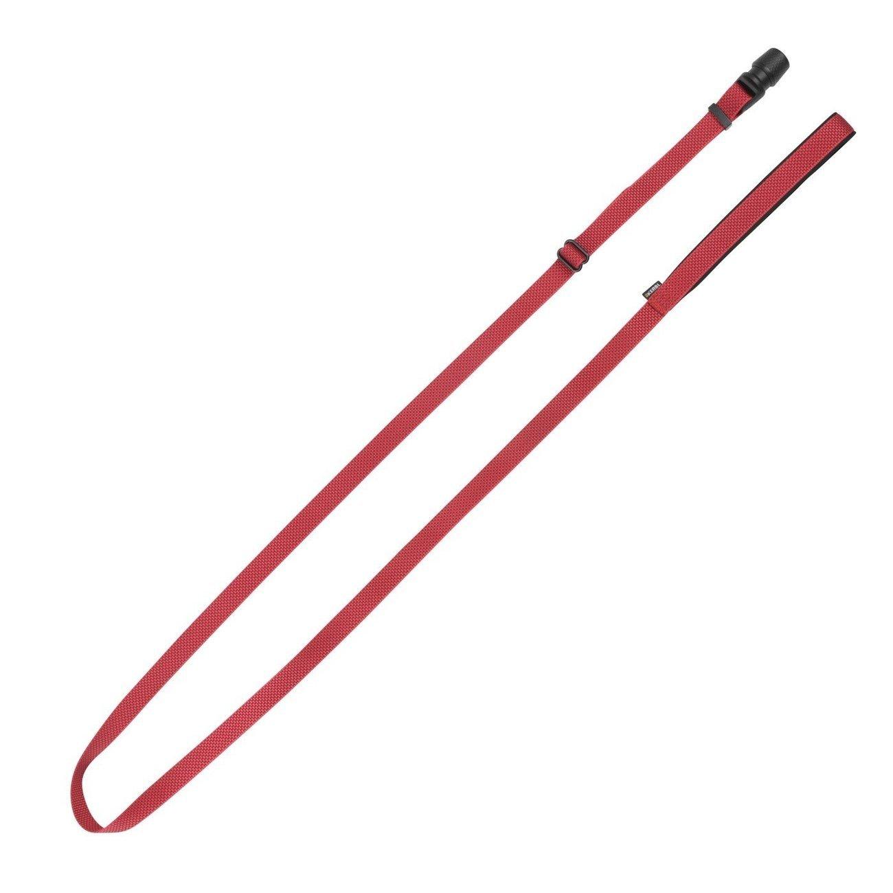 Hundeleine Flat GoLeyGo 2.0, rot, 20mm x 140-200cm
