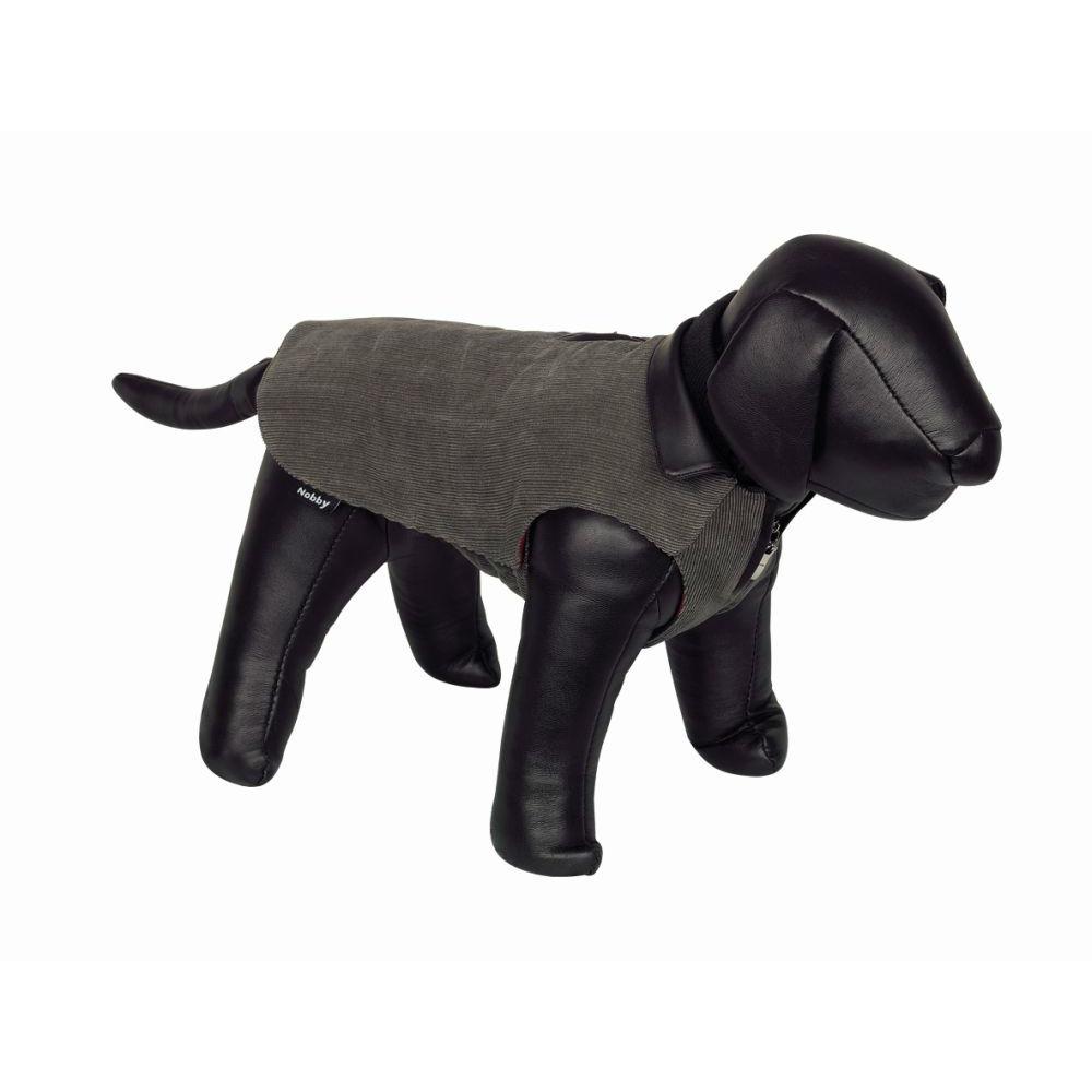 Nobby Hundemantel Cord CORDURO, 40 cm, grau