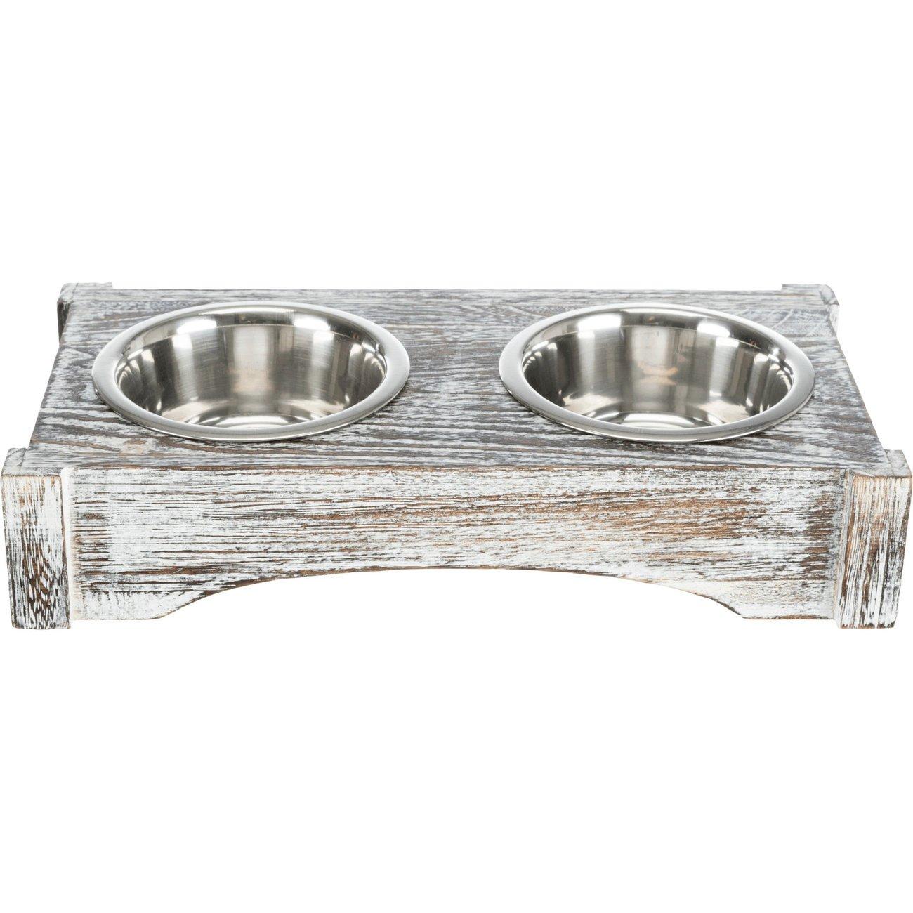 TRIXIE Hundenapf doppelt mit Vintage Holzständer 24356, Bild 8