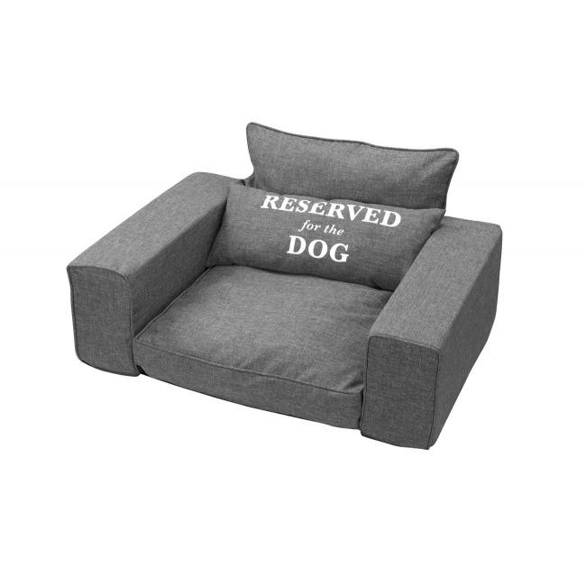 EBI Hundesofa Reserved, 95X65X45CM, grau