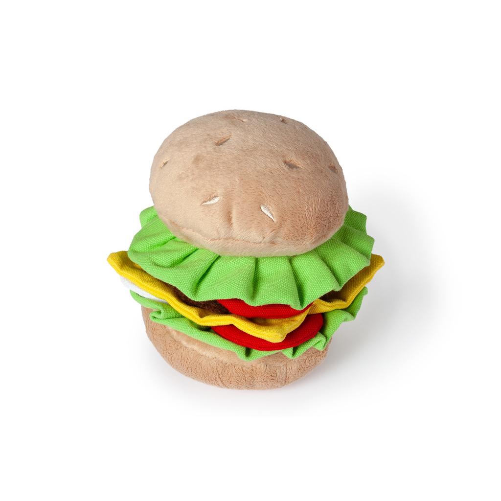 Karlie Hundespielzeug aus Plüsch Burger, Bild 2