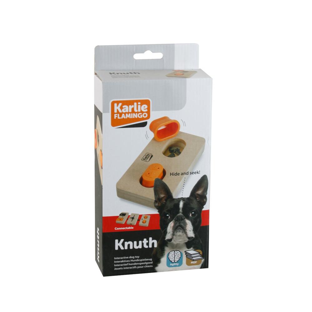 Karlie Hundespielzeug Brain Train Knuth, L: 22 cm B: 12 cm