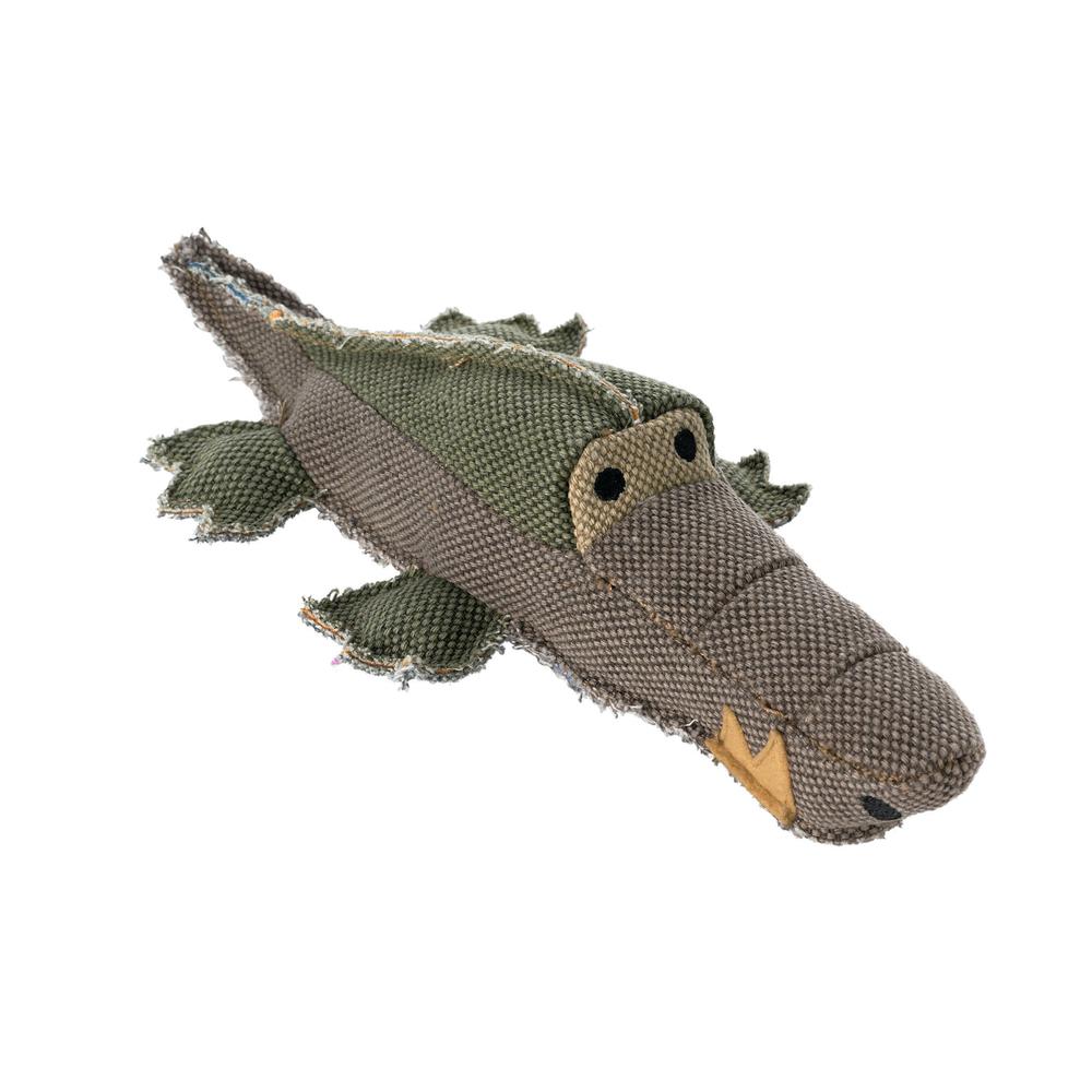 Hunter Hundespielzeug Canvas Maritime, Krokodil, 32 cm