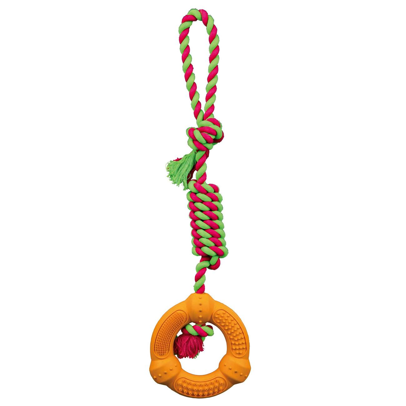 TRIXIE Hundespielzeug Ring am Tau 33191, Bild 2