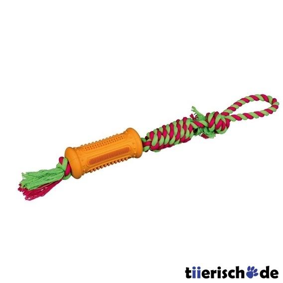 TRIXIE Hundespielzeug Stick am Tau