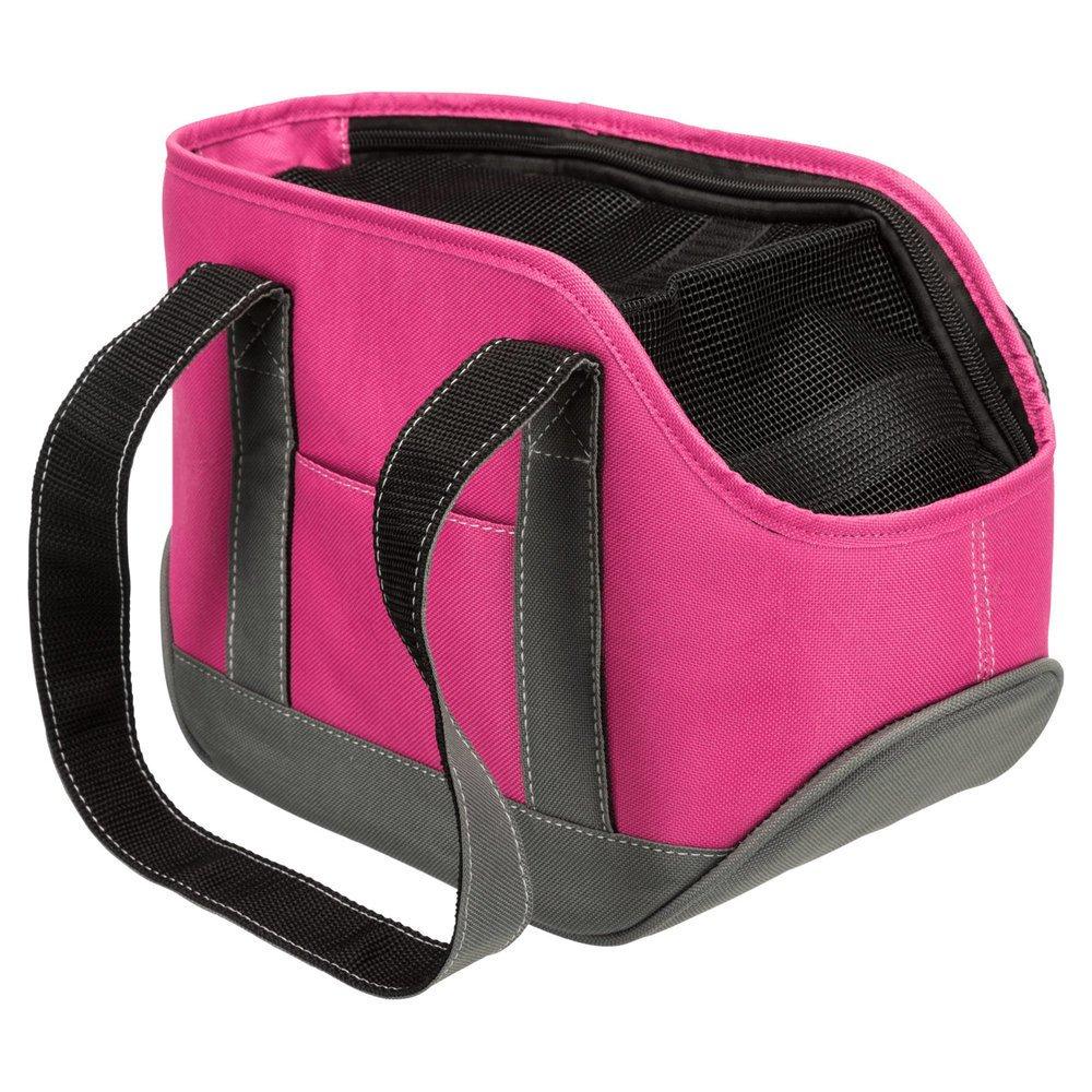 Trixie Hundetasche Alea, 16 × 20 × 30 cm, pink/grau