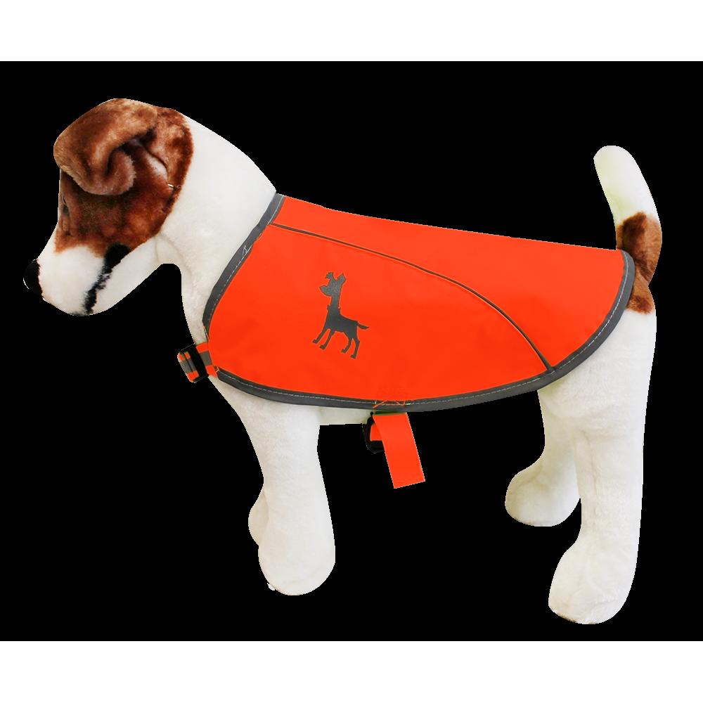 Hundeweste in Neon von Alcott, Gr. L neon-orange