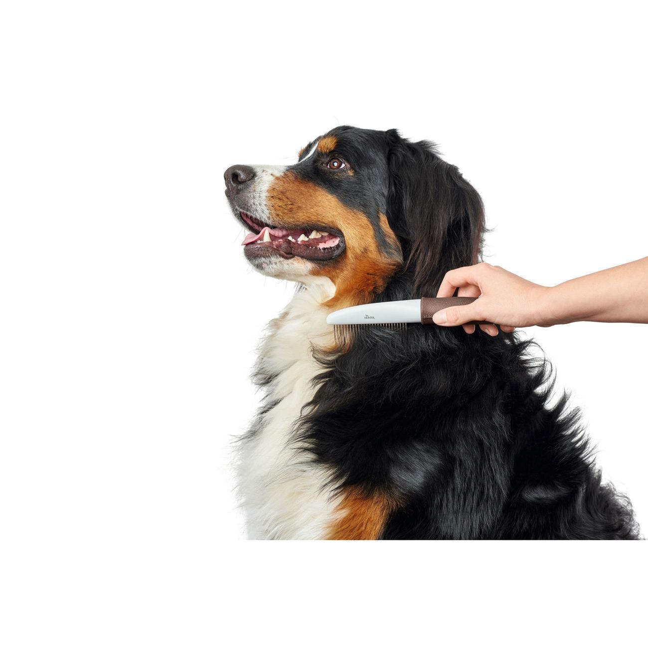 Hunter Haustier Pflegekamm Spa mit rotierenden Zinken 65580, Bild 6
