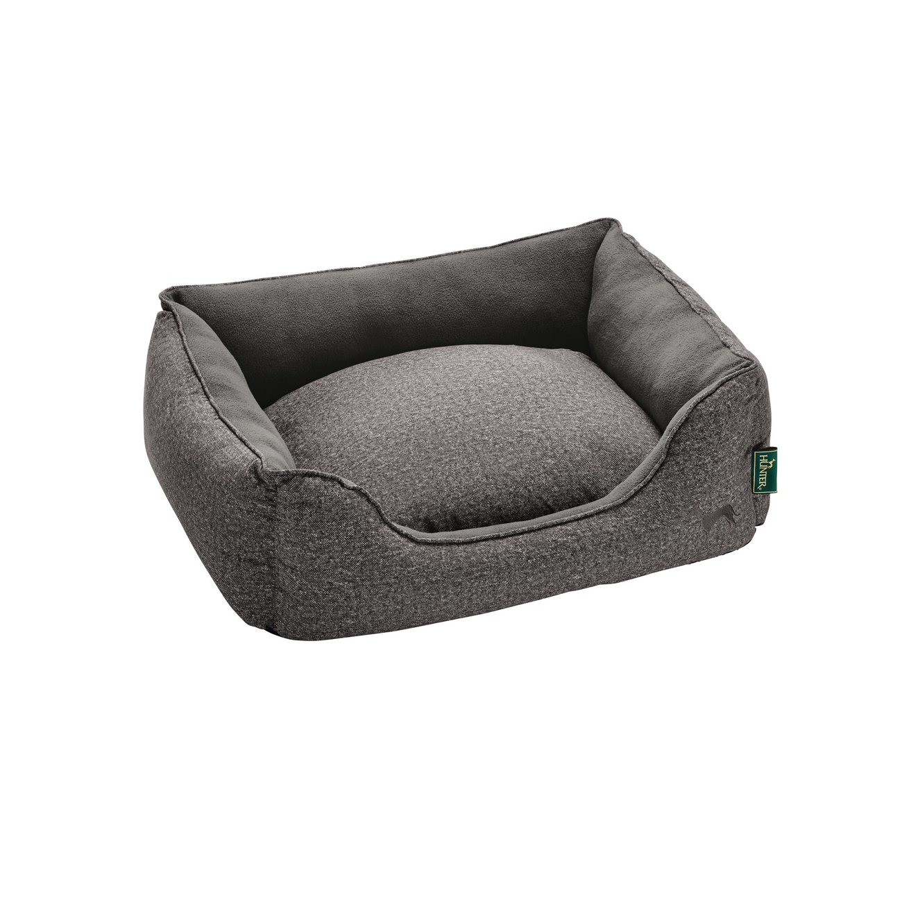 Hunter Hundebett Boston Cozy, 80x60 cm, grau