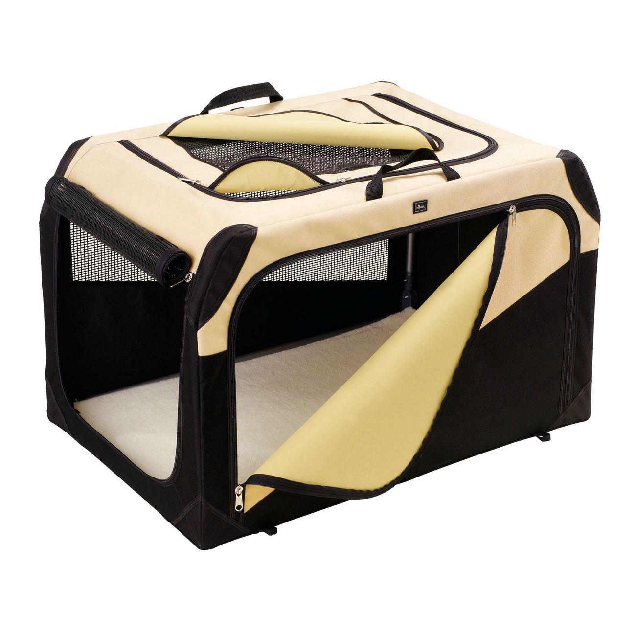 Hunter Hundebox Transportbox faltbar, S: 61 x 46 x 43 cm