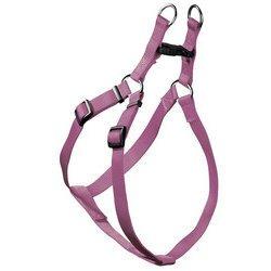 Hunter Hundegeschirr Nylon Ecco Sport Quick, M-L: Hals 52 - 74 cm, Bauch 55 - 79 cm, Breite 2,5 cm, flieder