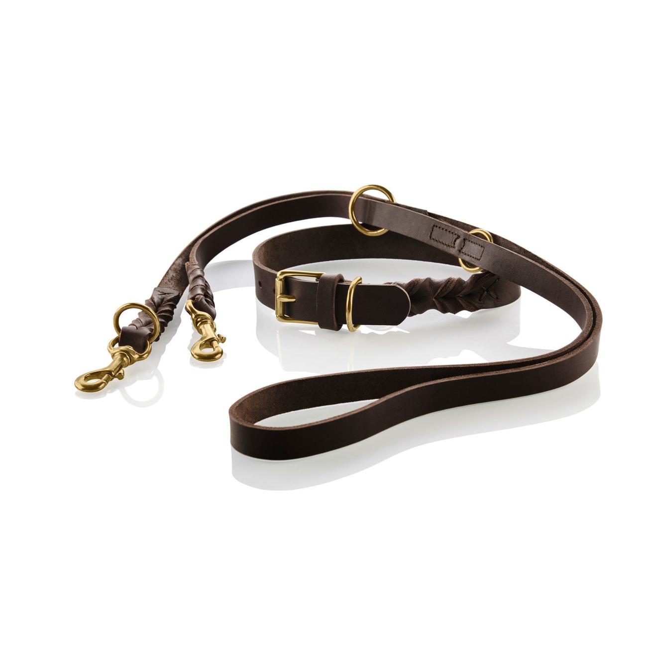 Hunter Hundeleine Leder Sansibar Solid 66863, Bild 7