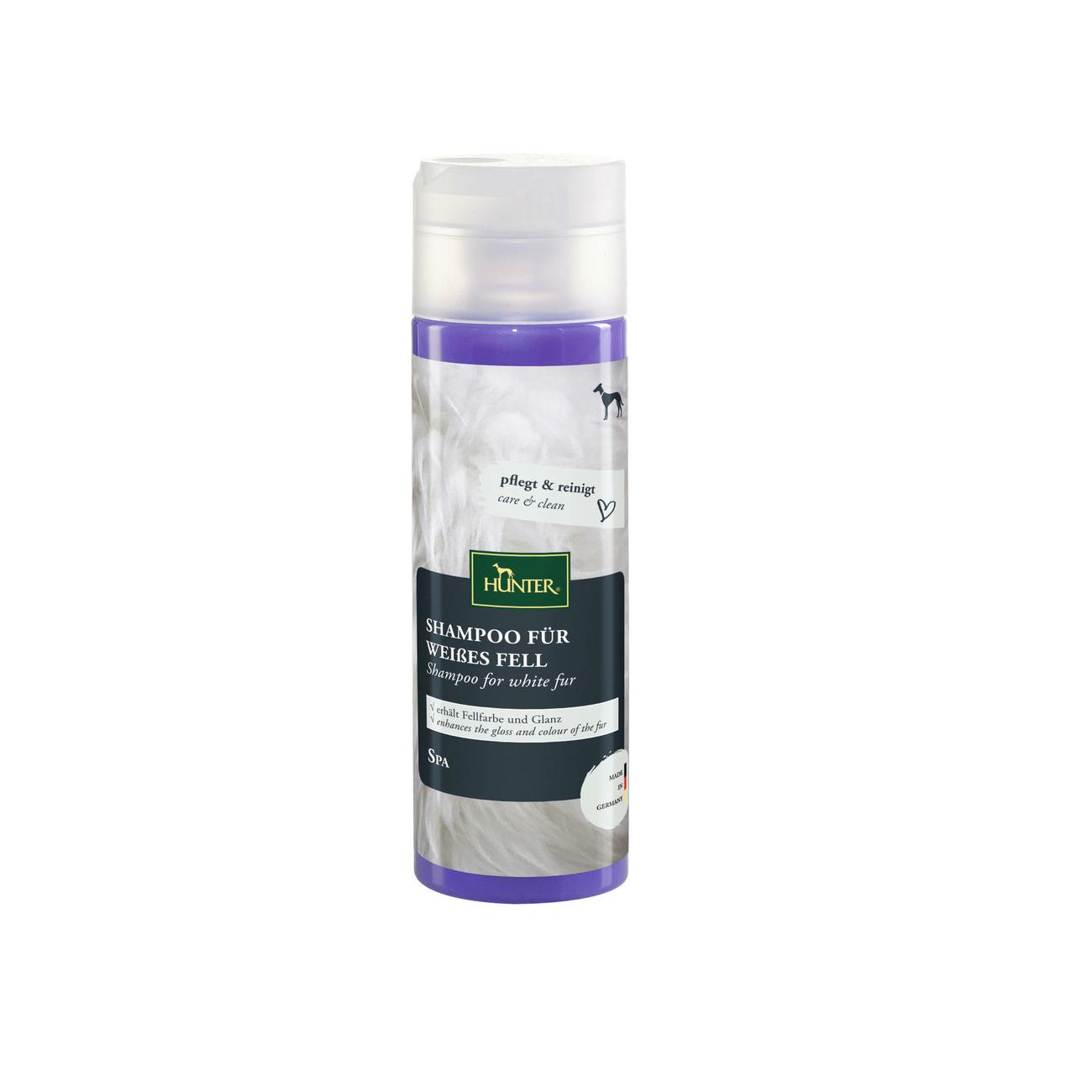 Hunter Hundeshampoo für weißes Fell, 200 ml
