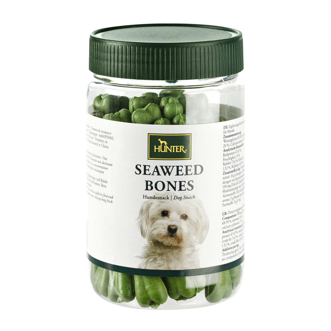 Hunter Hundesnack Seaweed Bones Meeresalgen 44395