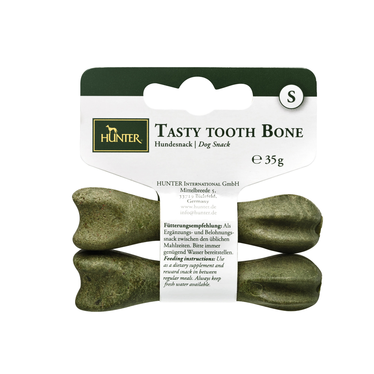 Hunter Hundesnack Tasty Tooth Bone 44401