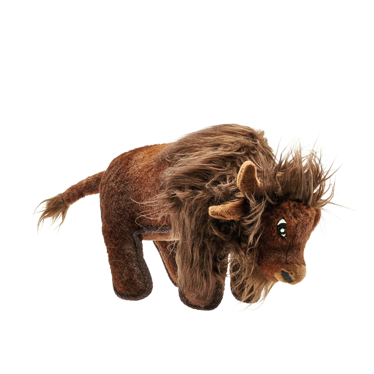 Hunter Hundespielzeug Tough Kamerun Stofftier, Bison, 24 cm