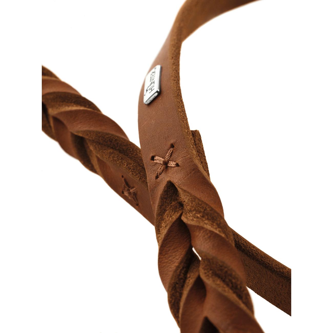 Hunter Verstellbare Führleine Solid Education Leder geflochten 66112, Bild 7